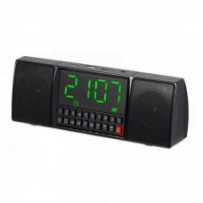 Портативная колонка блютуз MP3 HLV WS-1515 Black
