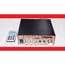 Усилитель звука UKC Xplod SN-606BT FM USB Блютуз + Караоке