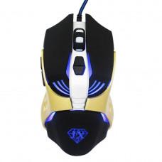Мышь Jiexin X13 USB Black/Gold (G101001188)