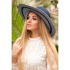 Шляпа «Барселона» (синий) Braxton