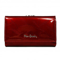 Лаковый кошелек из натуральной кожи Pierre Cardin код 108