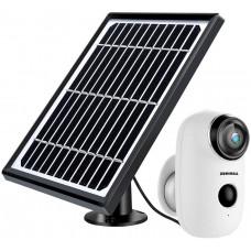 Беспроводная камера видеонаблюдения ZUMIMALL на солнечной батарее 1080P