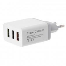 Зарядное для телефона Fast Charge AR 3 USB порта