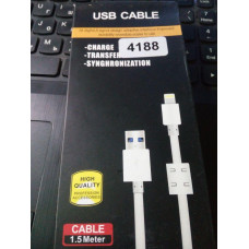 Шнур кабель High Quality Lightning для iPhone 1,5м
