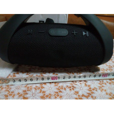 Колонка блютуз Bluetooth SPS Mini Boom BASS E10 черная