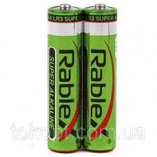 Батарейка Rablex Super alkaline LR3 AAА минипальчик