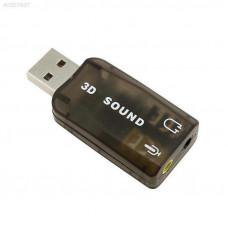 Звуковая карта USB 3D sound 5.1 для ноутбука,ПК