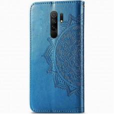Чехол-книжка Art Case с визитницей для Xiaomi Redmi 9 (Синий)