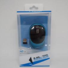 Мышка беспроводная оптическая ITech 185  Бирюзовый