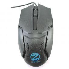 Мышь проводная Zornwee Q3 Черная USB