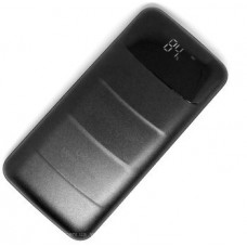 Повербанк Z081 + лед дисплей (реальная емкость 9600) черный