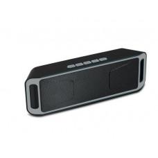 SC208 Bluetooth-колонка с поддержкой TF-карты портативная блютуз колонка черная