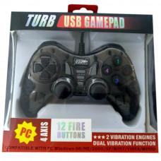 Джойстик для компьютера USB игровой DJ-900/901 черный