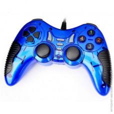 Джойстик для компьютера USB игровой DJ-900/901 синий