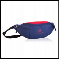Спортивная сумка бананка водонепроницаемая! Бренд BETLEWSKI Польша синяя