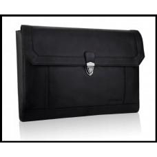Портфель шкіряний бренд BETLEWSKI  з колекції CAMBRIDGE Польша колір чорний