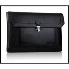 Портфель шкіряний бренд BETLEWSKI з Колекції VINTAGE Польща колір чорний