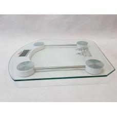 Весы напольные электронные Domotec 2003B Квадратные из закалённого стекла