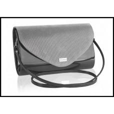 Женская сумка-клатч бренд BETLEWSKI производитель Польша цвета: серебро