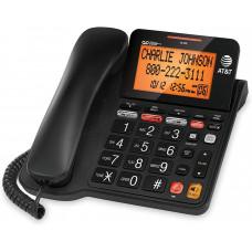 Стационарный телефон AT & T CD4930 с системой автоответчика и идентификатором абонента