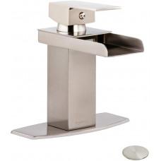 Смеситель для ванной комнаты Basics AB-BF600-SN, атласный никель