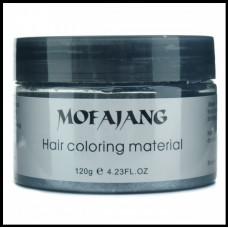 Окрашивающий воск для волос Mofajang чёрный 120 гр