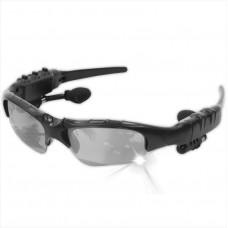Bluetooth гарнитура очки Lesko LK-086 Black беспроводная Bluetooth 4.1 + EDR смарт очки батарея 100 мА