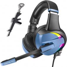 Наушники игровая гарнитура PS4 Pro RGB для ПК для Xbox с микрофоном