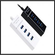 USB-хаб 3.0 4-портовый  высокоскоростной 5 Гбит / с USB 3.0Splitter HUB4 port 3.0