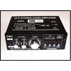 AK-698D F Усилитель Звука FM USB Караоке 2x300 Вт