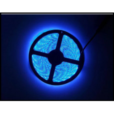 LED Ленты (3528) Blue - Голубая - Синий длинна 5м Лед (ВидеоОбзор)