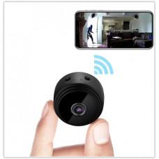 Беспроводная мини камера wifi видеонаблюдения 1080P HD