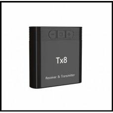 Беспроводной аудиопередатчик AptX  2-в-1, 3,5-мм Bluetooth 4.1  для ТВ, ПК,