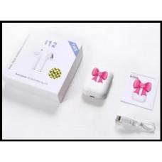 Беспроводные вставные наушники i12 TWS Bluetooth 5.0 Сенсорное управление