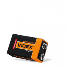 Батарейка солевая 9v крона Videx Super Heavy Dutty