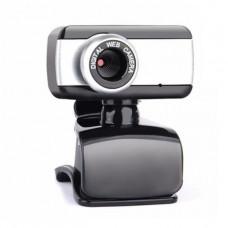 Веб-камера Real-El FC-130 Black / Grey (EL123300003) микрофон, ручная настройка, Plug & Play, Сенсор CMOS