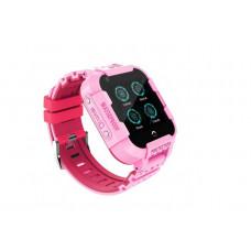 Дитячі смарт-годинник DF09Z 4G рожеві з GPS і WI-FI Baby Smart Watch Df39Z Original Plus З відеодзвінків 4G