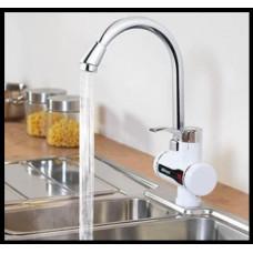 Водонагреватель проточный кран бойлер с LCD экраном, электрический кран для нагрева воды