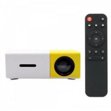 Портативний міні проектор UFT UFTVP1 Yellow (VP1) 400-600 Лм AV, USB, HDMI, MicroSD, jack 3.5 мм