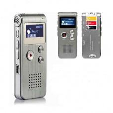 Цифровой диктофон hobbyline с ЖК-экраном, 8 ГБ, MP3-плеер, диктофон, аудио рекордер