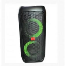 """Колонка-чемодан ZXX-5506 (500W) с радиомикрофоном Динамики: 10 + 10 дюймов """"Bluetooth Пульт управления"""