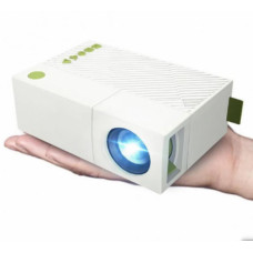 Портативный мультимедийный мини-проектор YG 310 Разрешение: 320х240 расстояние: до 2м