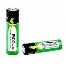 Литий-ионный аккумулятор 18650 Rablex 1500 mAh Original