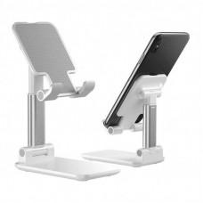 Складная, телескопическая подставка для телефонa, планшета L305 белая