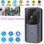 Дверной Wi-Fi видео звонок Doorbel M10 домофон беспроводной черный