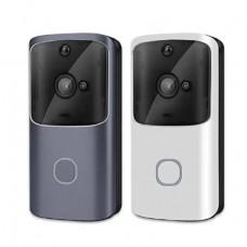 Дверной Wi-Fi видео звонок Doorbel M10 домофон беспроводной серебристый