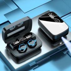 Беспроводные Bluetooth Наушники  M9 Hi-Fi  Водонепроницаемые с фонариком