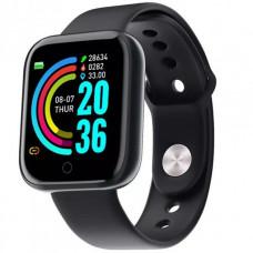 Смарт-часы SmartWatch D20 Y68 черные