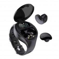 Умные часы с наушниками tws OL-42 2 в 1