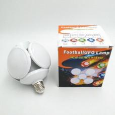 Светодиодная лампочка люстра, раскладная лампочка 40Вт 220В E27 белая